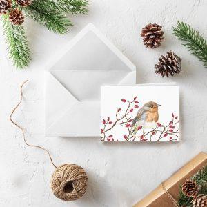 Weihnachts-Klappkarten