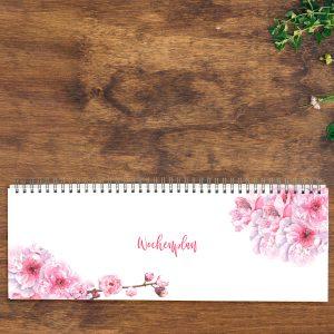 Tischkalender zeitlos Sakura Kirschblüte