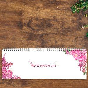 Tischkalender zeitlos Pink Berry von Grünstich