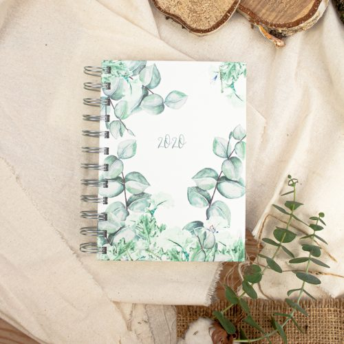 "Kalender DIN A6 ""Eucalyptus"""