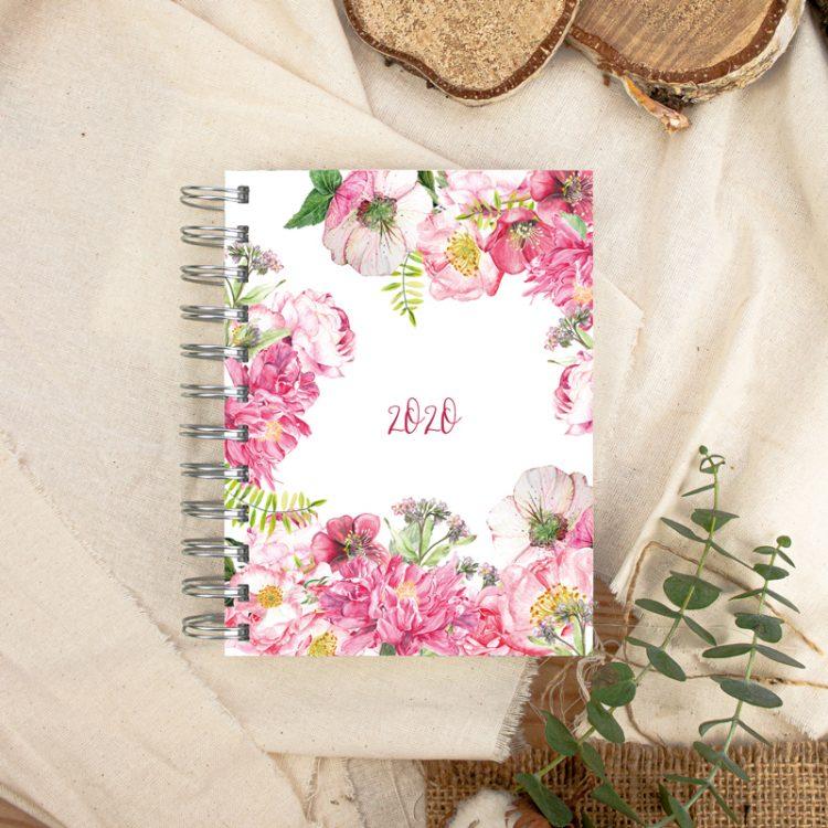 "Kalender DIN A6 ""Rose Sauvage"""