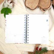 """Kalender DIN A6 """"Rotkehlchen"""""""