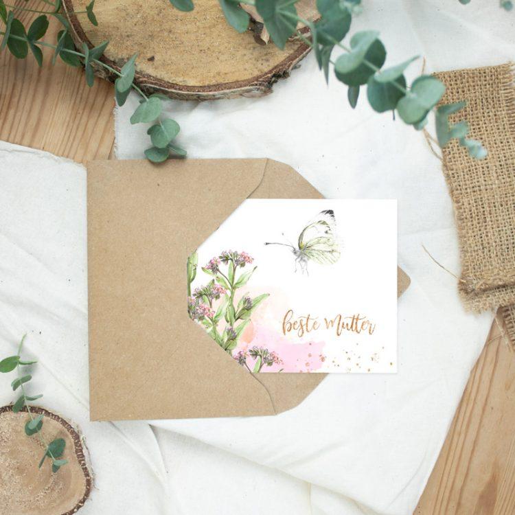 """Postkarte Muttertag """"Beste Mutter III"""""""