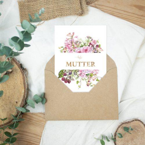 "Postkarte Muttertag ""Beste Mutter"""