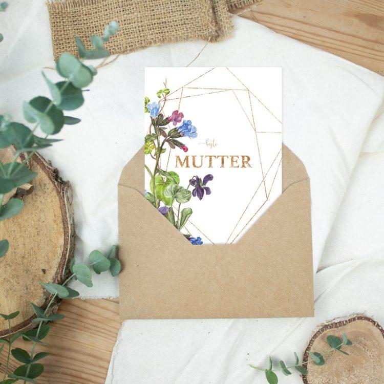 """Postkarte Muttertag """"Beste Mutter II"""""""