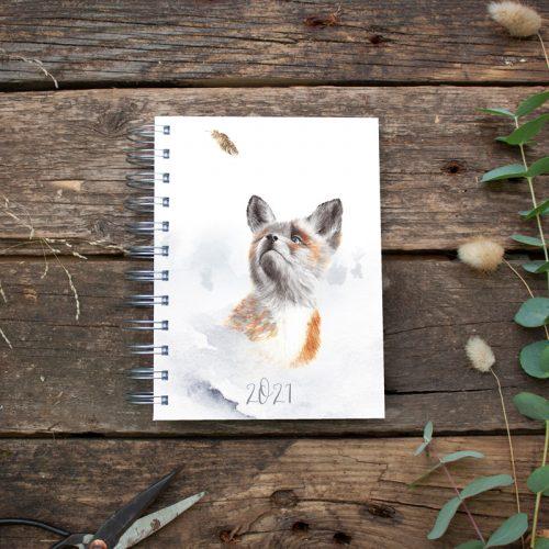 """Kalender DIN A6 """"Fuchs"""""""