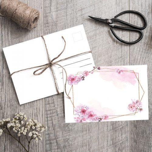 Postkarte Kirsche Sakura
