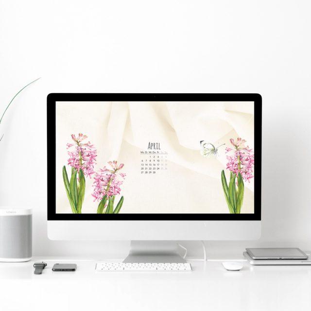 Wallpaper Desktop April